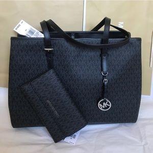 💦🌻Mk tote set🌻shoulder bag & wallet/large